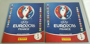PANINI FRANCE 2016 EURO 16 EM 2x DIFFERENT COVER LEER ALBUM EMPTY TYP AUSTRIA - <span itemprop=availableAtOrFrom>St. Valentin, Österreich</span> - PANINI FRANCE 2016 EURO 16 EM 2x DIFFERENT COVER LEER ALBUM EMPTY TYP AUSTRIA - St. Valentin, Österreich