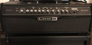 Spider IV MKII Line6 Amp with Shortboard and 4 speaker cabinet