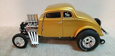 ACME 1:18 1933 DIRTY THIRTY GASSER - METALLIC GOLD - A1800914 -  ONLY 240 PIECES