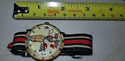 Vintage Original Spiro Agnew Dirty Time Company Watch working!!