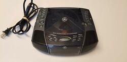 General Electric GE 7-4897A Dual Alarm Stereo CD Clock AM FM Radio Sleep Nap. D1