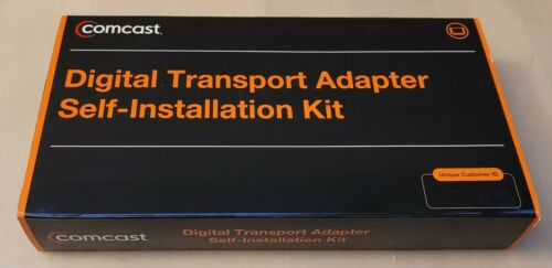 Xfinity Comcast DCI105COM1 Digital Transport Adapater Installation Kit Brand New
