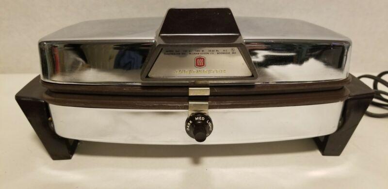 Toastmaster Model 263 Waffle Maker.