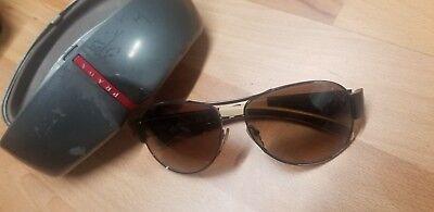 USED prada sunglasses 5AV 6S1 SPS 51H 59*14 135 3N OPTIC vision  Lenses with # (Prada Optical Sunglasses)