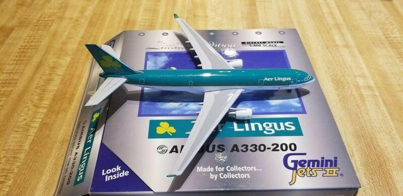 Gemini Jets Aer Lingus A330-202 1:400 GJEIN362 1990s Colors St. Mella EI-LAX