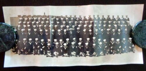 Vintage Photograph 1944 U.S. Naval Training Center GREAT LAKES ILLINOIS WWII