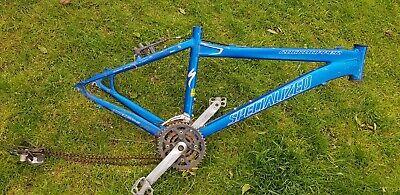 Specialized Rockhopper  mountain bike frame very light alloy,  downhill race