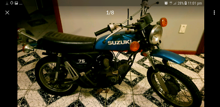 Suzuki 75,ts,2stroke,rare,z50,postie,mini bike,classic,project,gt Marsden Park Blacktown Area Preview