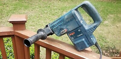 Nice Made In Germany Bosch 11227e 1-12 Inch Sds Max Rotary Hammer Drill Tested
