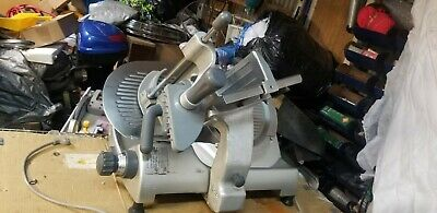 Hobart 2712 Automatic 2-speed 12 Meat Cheese Deli Slicer Manual Commercial.
