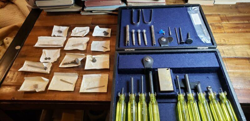 Vintage Weston Instruments Electrical Equipment Repair tool kit. Military equip