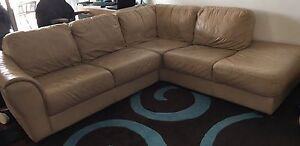 Leather lounge Curl Curl Manly Area Preview
