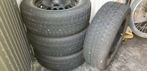 Winter tires Uniroyal 215/60R16 95s used 2 seasons