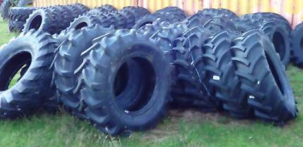 Tractor, implement, grader & loader tyres. New & used.