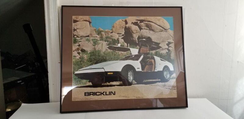 Bricklin Automobile Poster