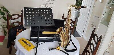 Used tenor saxophone