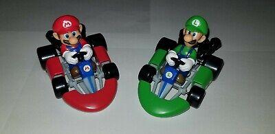 Mario Kart Birthday (1 Super Mario Kart 2 Pc Decoset Birthday Cake Topper Party Decor Luigi)