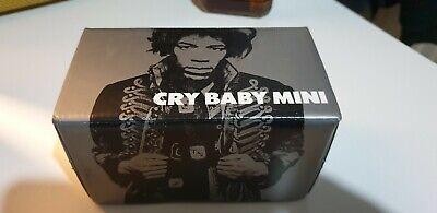 Dunlop Jimi Hendrix JHM9 Cry Baby Mini Wah Wah Pedal