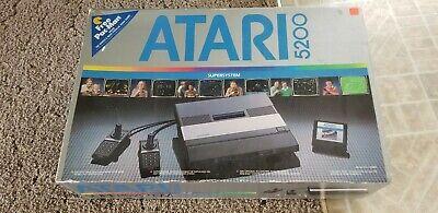 Vtg Atari 5200 Supersystem 2 Port Tested