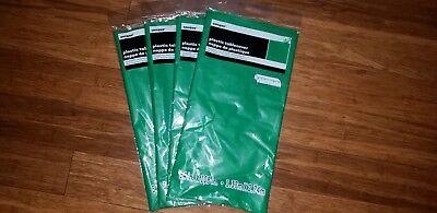 Emerald Green Plastic Table Cover 54