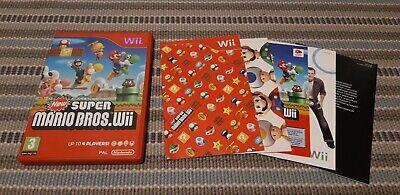 New Super Mario Bros. Wii Nintendo Game