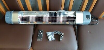 Outdoor Patio Infrared Heater 1000W To 2000W Red Quartz Tube