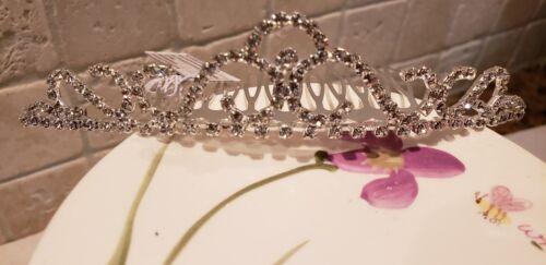 Wedding/Pageant Head Comb Girls Rhinestoone Crystal Tiara Br