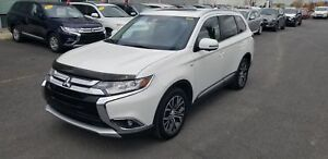 2017 Mitsubishi Outlander GT V6 AWD 7 PASSAGERS GPS+CUIR+TOIT+MA