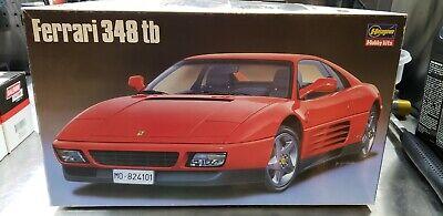 Hasegawa Ferrari 348tb 1/24 model kit.