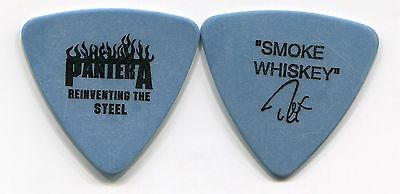 PANTERA 2001 Steel Tour Guitar Pick!!! REX BROWN custom concert stage Pick #1