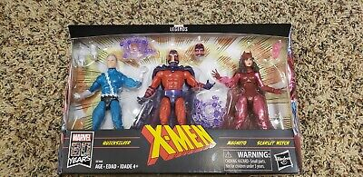 "Marvel Legends Series Exclusive 6"" Family Matters 3 Pack * Magneto Quicksilver +"