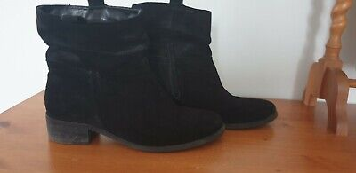 Next Ankle Boots Size 6.5 Blk