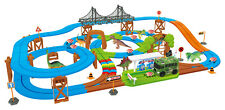 Dino Safari Galaxy Flex-Track 115 Piece With Intelli-Bus by World Tech Toys