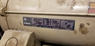 Ge 20 Hp Electric Motor