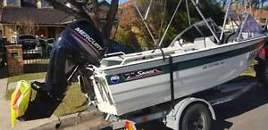 Savage kestrel with 2014 mercury 40hp  4stroke