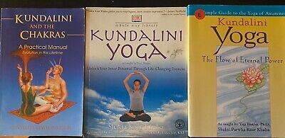 Lot Of Kundalini Yoga Books