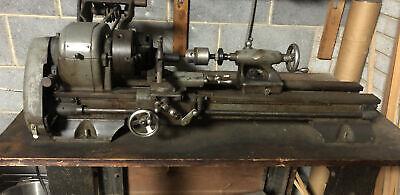Vintage Craftsman 101.21400 Lathe Metal Cutting With Bench Clean Sn 011704