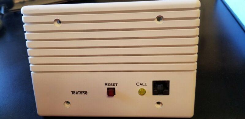TEKTONE IR311B SINGLE BED CALL STATION USED **FREE FREIGHT**