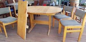 Solid Pine Table with extension