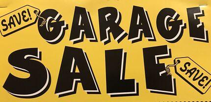 SPRING CLEAN  GARAGE SALE !!   9am till 2pm