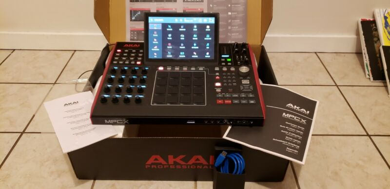Akai Professional MPC X Standalone Music Production Center with Sampler and Seq…
