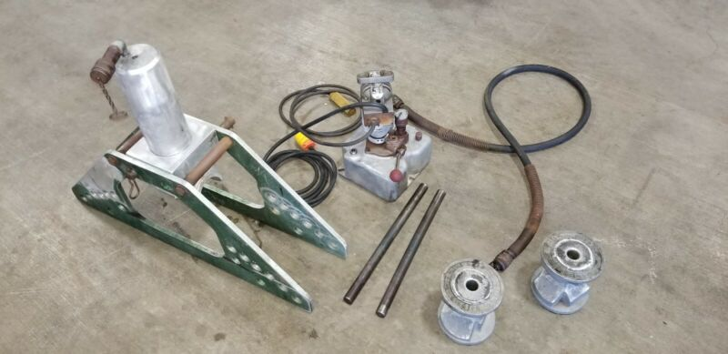 Greenlee Pipe Bending Station 777 w/ Milwaukee Power Unit