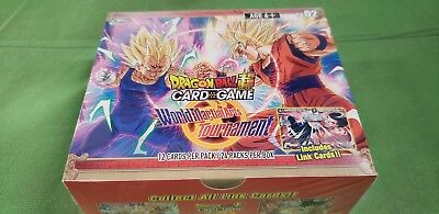 Dragon Ball Super Booster Box World Martial Arts Tournament Card Game Dragonball