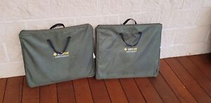 2 Oztrail Camping Cupboards.