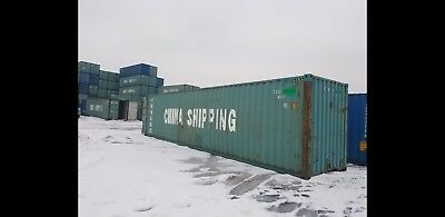 40ft High Cube Shipping Containers Good For Storage