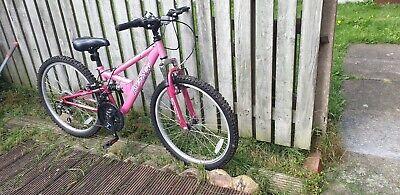 Ladies Pink Framed Apollo Bike
