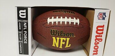 6b08d79f2 Wilson Force NFL Football Junior NEW WTPCKF 1443