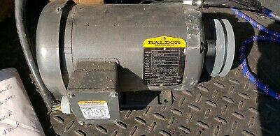 Baldor Vm3559 Electric Motor 3hp 208-230460v 3phase Used