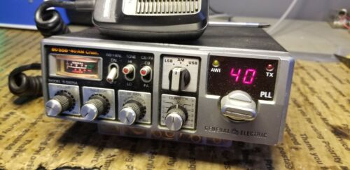 VINTAGE CB RADIO GENERAL ELECTRIC 3-5825A  40CH AM SSB. Buy it now for 250.00