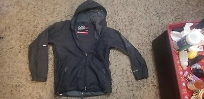686 Snowboard Jacket Mens S Coat Solid Black Small Mannual Ski Snow